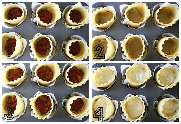 Lasagna Cups from www.laurenslatest.com