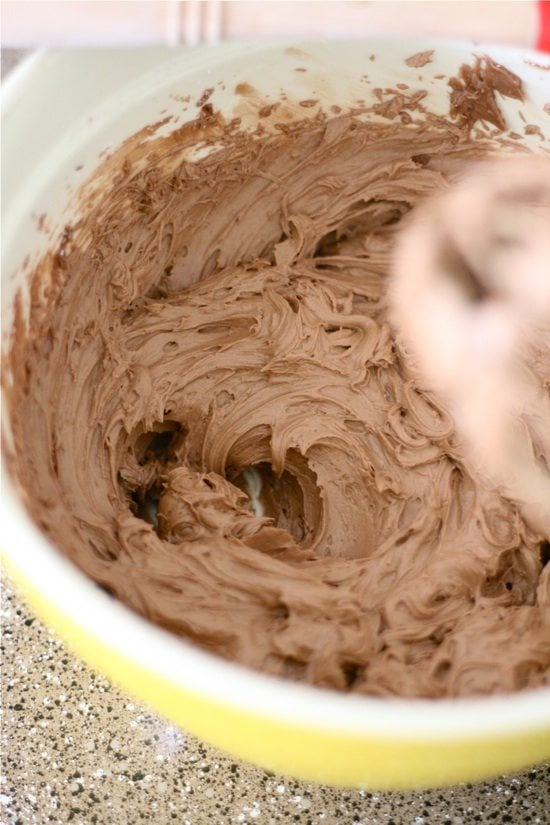 Chocolate Frosting is the BEST frosting for cakes, especially birthday cupcakes!! It's simple to whip up and so creamy!