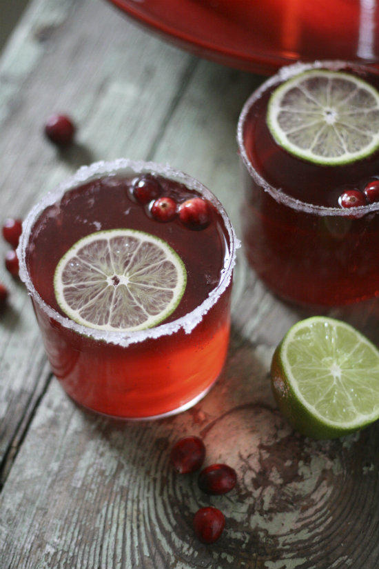 Cranberry Lime Sparkler + Le Creuset Giveaway!