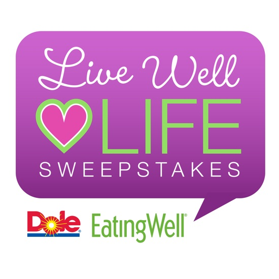Dole Live Well Love Life Sweeps