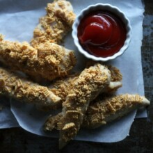 Shake and Bake Chicken Fingers