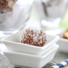 Sugared Doughnut Holes from ART Restaurant + The Four Seasons Seattle ...