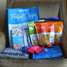 Pretzel Crisps Swag Bag Giveaway