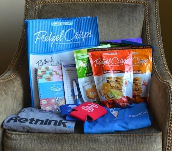 Pretzel Crisps Swag Bag Giveaway