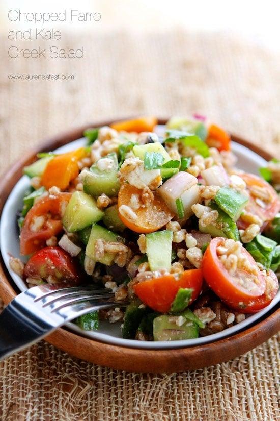 salad kale greek salad ingredients was sort of greek salad like kale ...