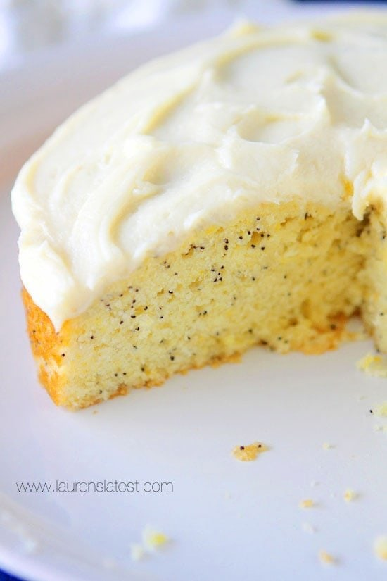 Cream Cheese Icing For Lemon Pound Cake