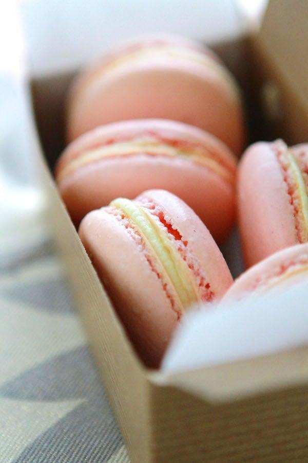 Pink Lemonade Macarons 1