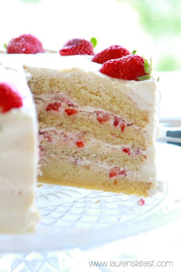 ... cake strawberry sour cream ice cream strawberry cream cake recipe