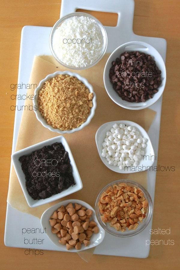 dipper toppings