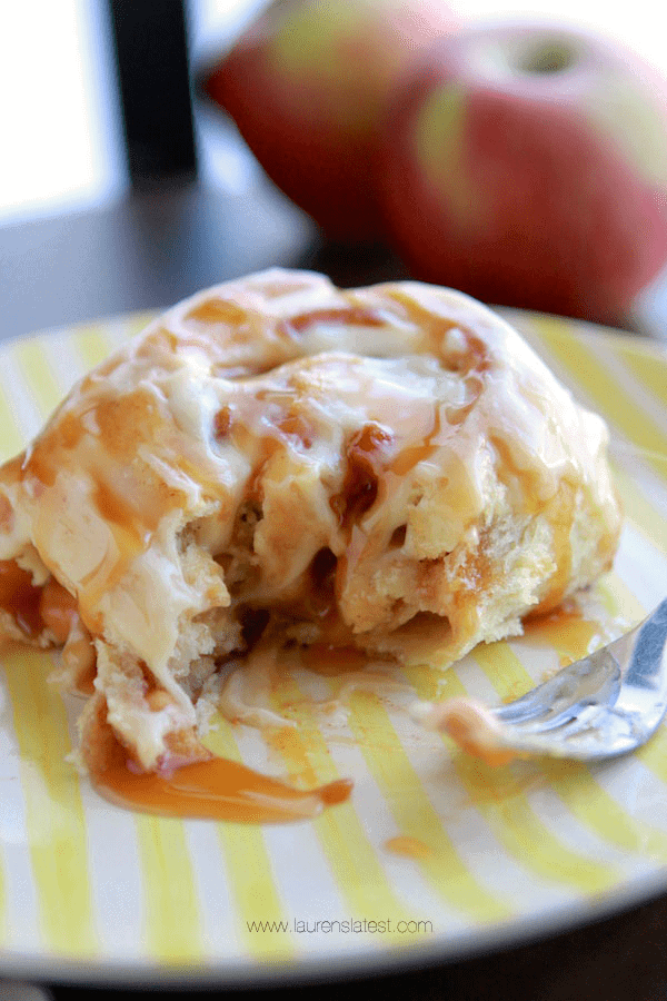 Caramel Apple Rolls 2