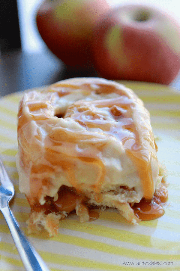 Caramel Apple Rolls 3