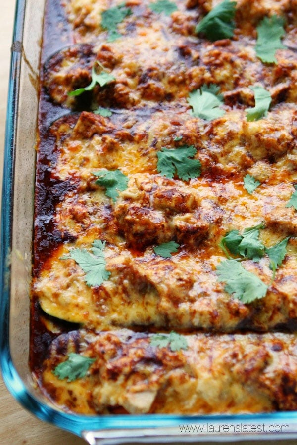 Mushroom And Zucchini Enchiladas Recipe — Dishmaps