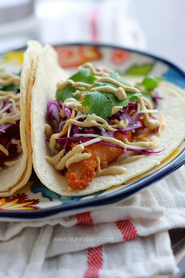 Baja Fish Taco Bar + $100 Visa Gift Card Giveaway!