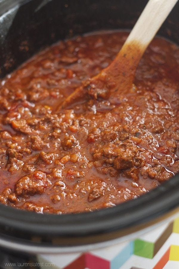 Crock Pot Bolognese Sauce Recipe — Dishmaps