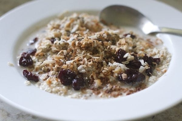 Cherry Coconut Muesli
