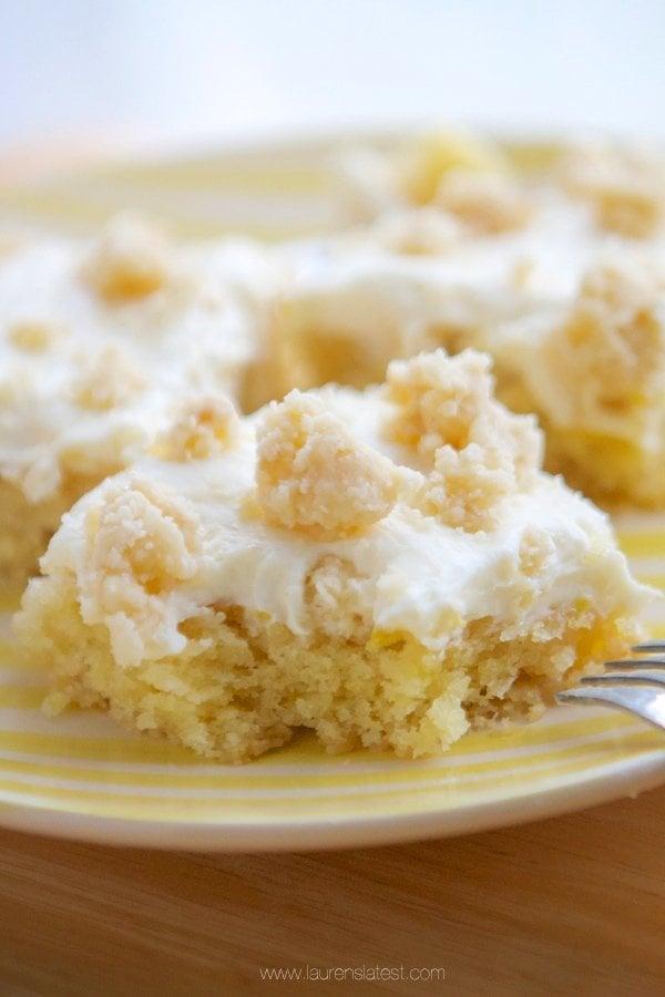 Lemon Buttermilk Crumb Cake