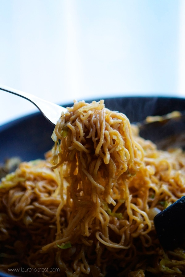 15 Minute Chow Mein Noodles