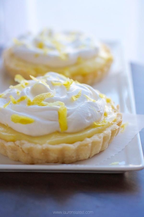 Lemon Sour Cream Tarts