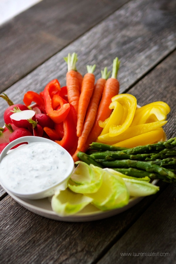High Protein Ranch Dip & Dressing