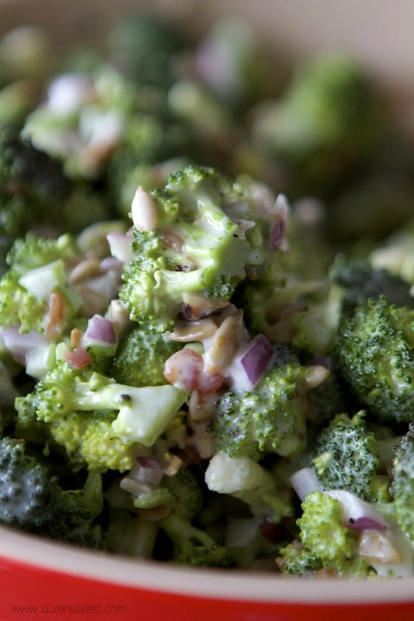 Mom's Broccoli Salad