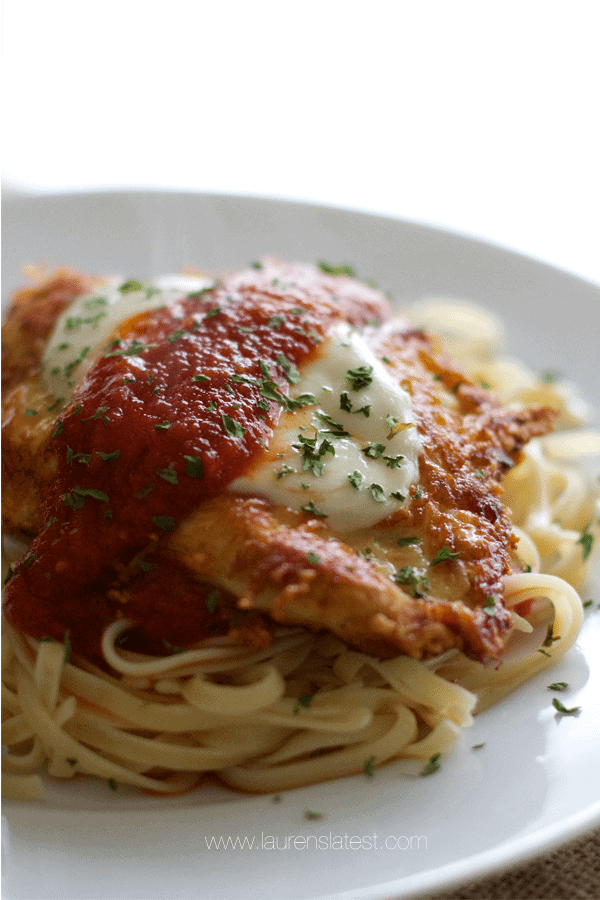 Chicken Parmesan | Lauren's Latest