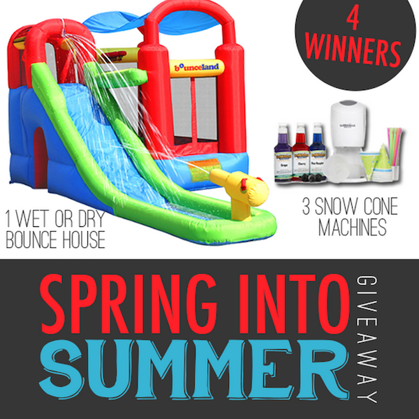 Spring into Summer Giveaway!