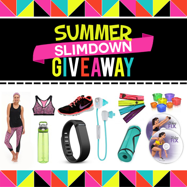 Summer Slimdown Giveaway!