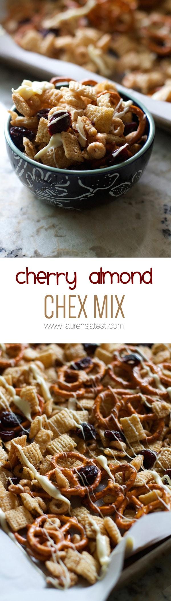 cherry almond chex mix