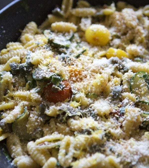 End of Summer Pasta from Plated