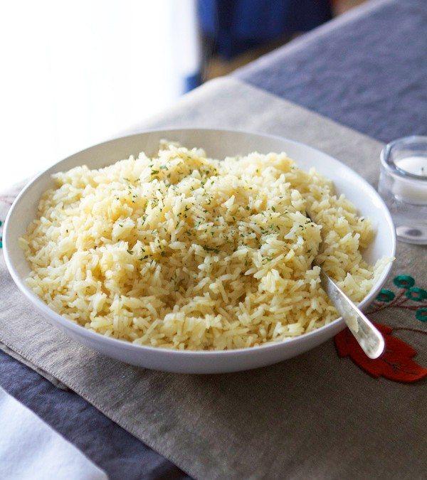 Lauren's Famous Butter Rice