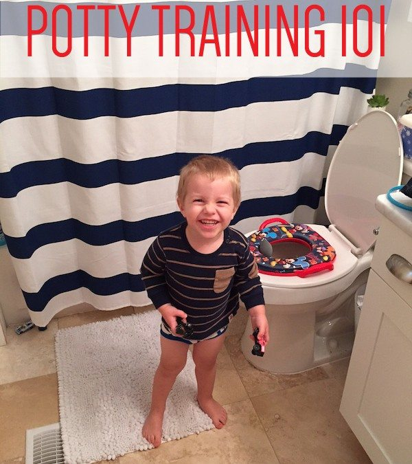 Potty Training Blake