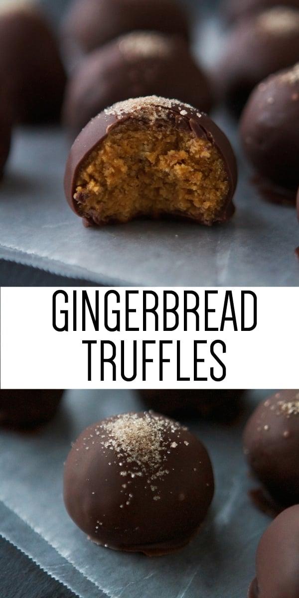 Gingerbread Truffles - Lauren's Latest