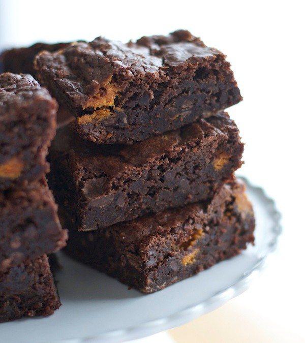 Crack Butterfinger Brownies