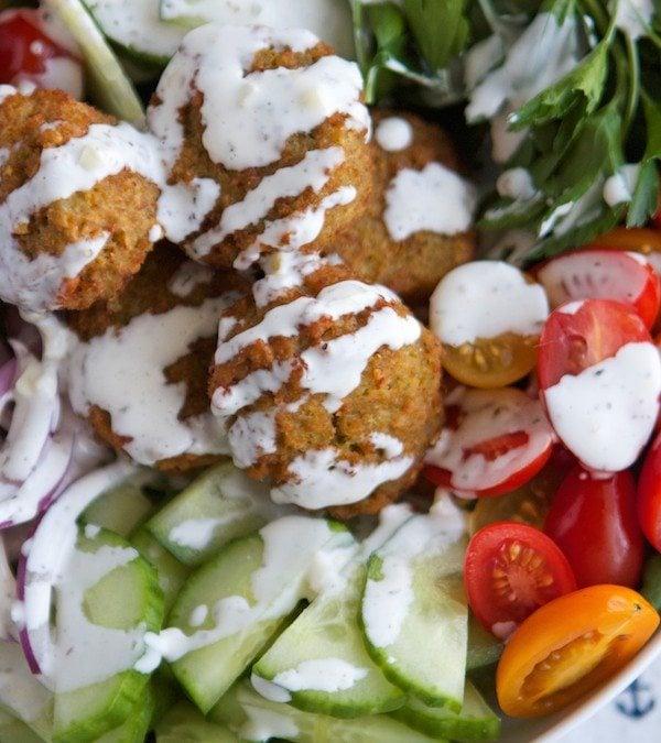 Falafel Salad Bowls
