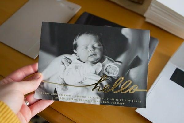Birth Announcements!