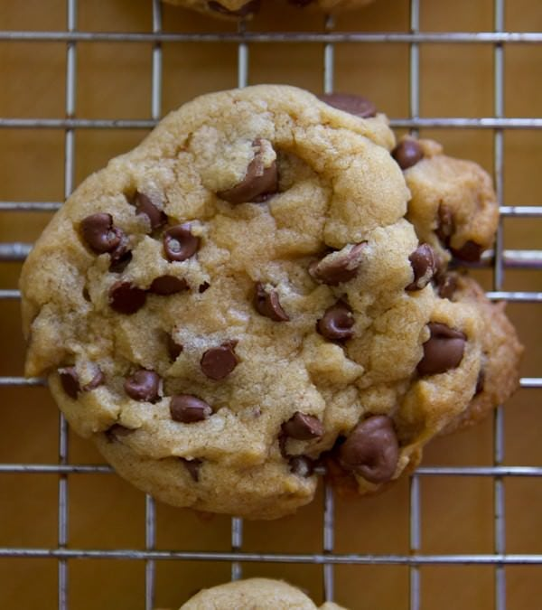 Salty Browned Butter Chocolate Chip Cookies
