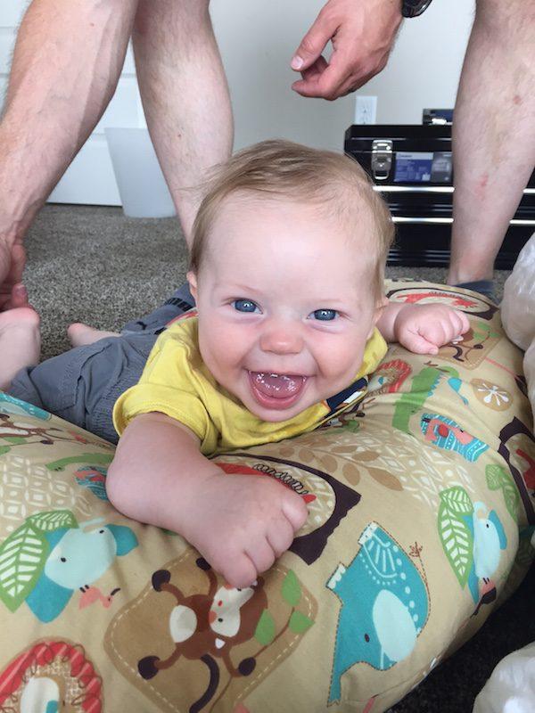 Edward at 4 Months