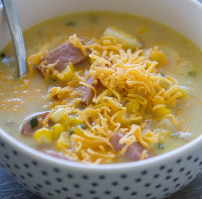 Smoked Sausage Corn Chowder