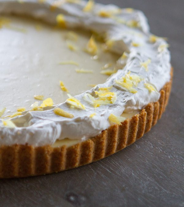 Lemon Cheesecake Tart