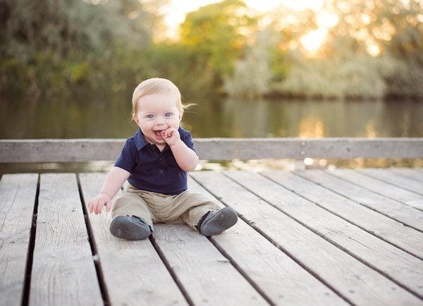 Edward at 8 months