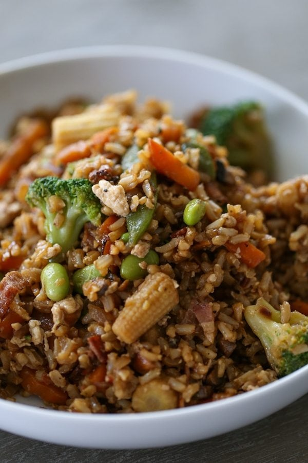 Guilt Free Fried Rice