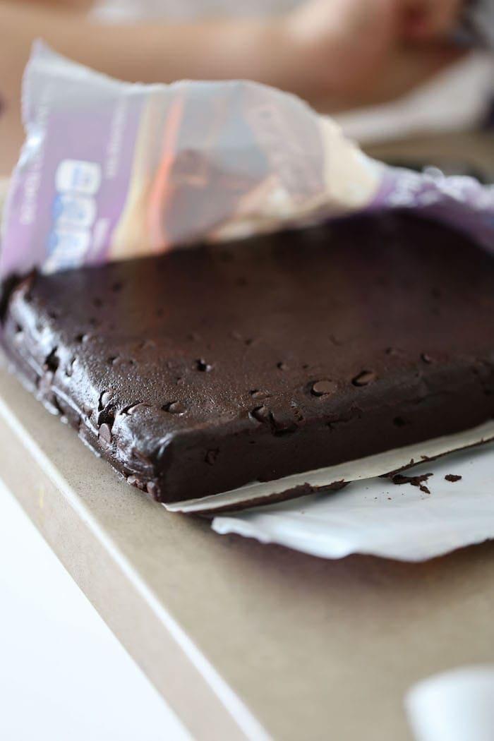 Valentine Brownie