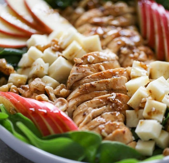 Apple Cheddar Chicken Salad