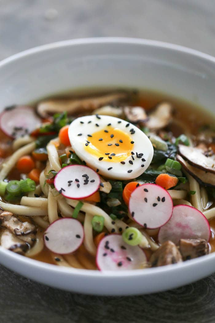 Easy Homemade Ramen... Simple ingredients turn into this fast and Asian-inspired soup.